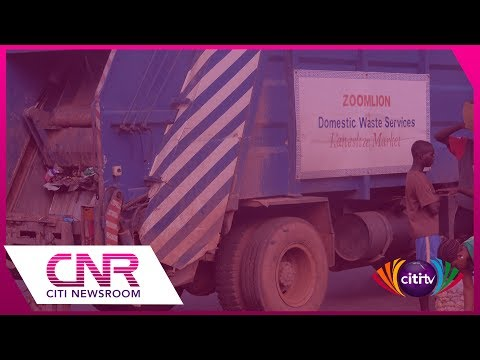 AMA contracts tipper trucks to carry refuse as Zoomlion drivers strike