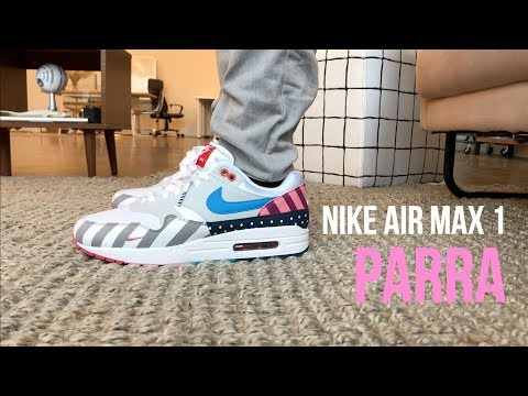 los angeles e770f 04464 Desempacado: Air Max 1 x Parra (2018) - смотреть онлайн на ...