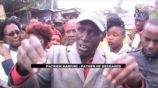 Allegedly drunk AP officer kills matatu tout in Waithaka, Dagoretti South