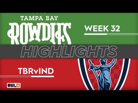 Tampa Bay - Инди Элевен 1:1. Видеообзор матча 13.10.2019. Видео голов и опасных моментов игры