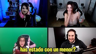 Nadie:           Absolutamente Nadie:           Streamers De Twitch: