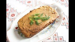 Паштет з печінки запечений в духовці❤Паштет из печени запеченный в духовке