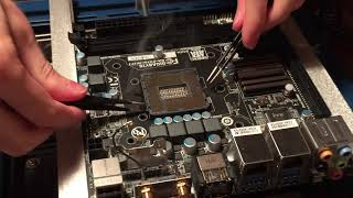 Replacing a Damaged CPU Socket on an LGA1150 Mini-ITX Motherboard