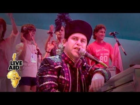 Elton John - Bennie And The Jets (Live Aid 1985)