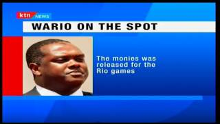 DPP Keriako Tobiko recommends the prosecution of Sports CS Hassan Wario for abuse of office