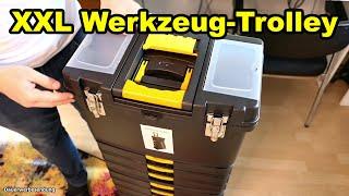 Günstiger XXL Werkzeug-Koffer / Trolley [Unboxing & Test]