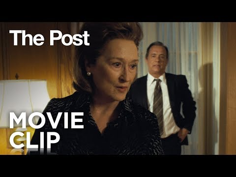 The Post (Clip 'Hypothetical Question')