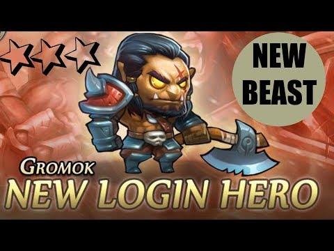 Soul Hunters-  NEW Hero Gromok Spotlight | And Awakening!