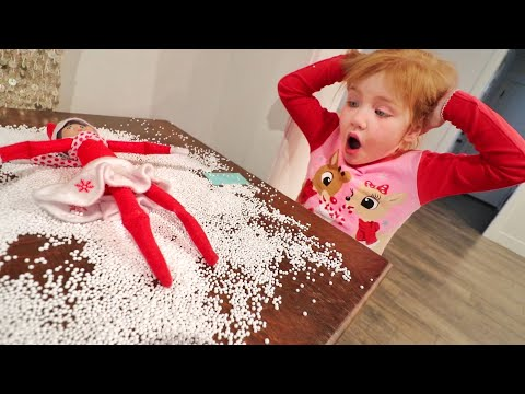 Download NOOO!! OUR ELF made a MESS inside our house! Family goes to Christmas tree lights at Temple Square! Mp4 HD Video and MP3