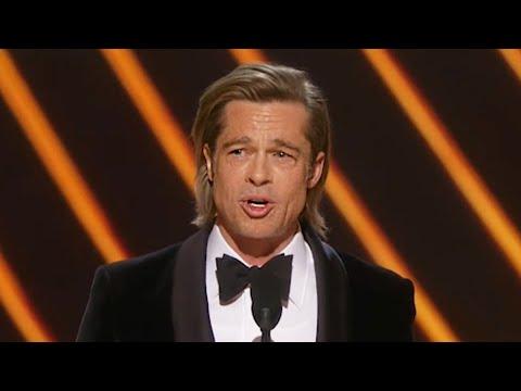 شاهد- كلمة براد بيت بعد فوزه بجائزة الأوسكار