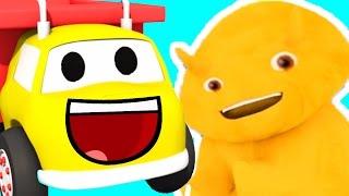 Давайте узнаем цифры, цвета, буквы, буквы от грузовика Игорь и дино | Обучающий мультфильм для детей