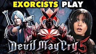 PROFESSIONAL EXORCISTS Play DEVIL MAY CRY 5 | React: Gaming