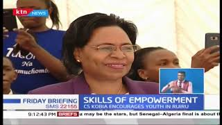 Prof. Margaret Kobia leads skills and empowerment ceremony in Kiambu