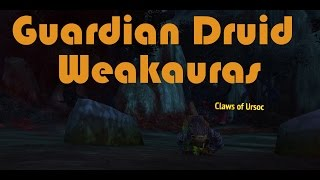 Legion Guardian Druid Tank Weakauras