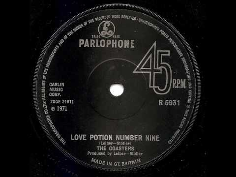 The Coasters Love Potion Number Nine Chords