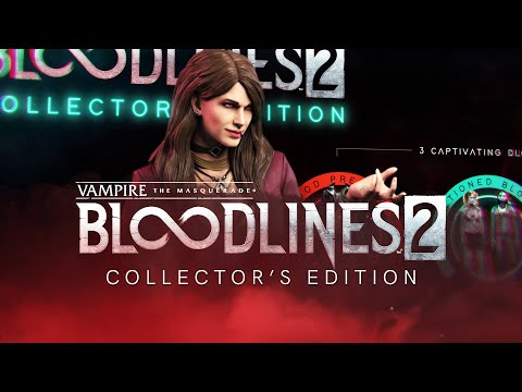 Annonce édition collector de Vampire: The Masquerade Bloodlines 2