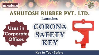 CORONA SAFETY KEY [COVID 19 KEY] - Uses In Corporate Offices
