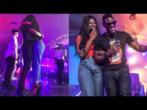 BBNaija Tobi Reveals His Love For Alex At Pepsi Lituation Party As The Crowd Went Crazy