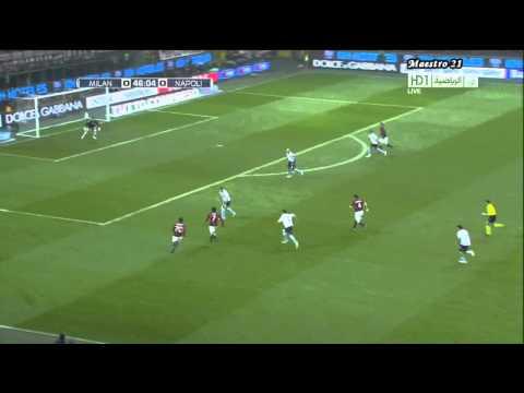 Highlights AC Milan 3-0 Napoli - 28/02/2011