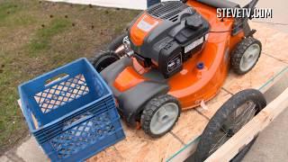 Steve Harvey Meets Viral Teenage Lawn Mowers