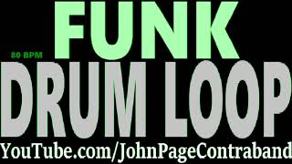 Funk Jam Drum Loop Beat for Guitar and Bass Track Rock