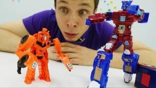 Супергерои против Трансформера: спасение Земли! Мультик для мальчиков