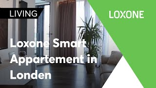 Loxone smart appartment Londen