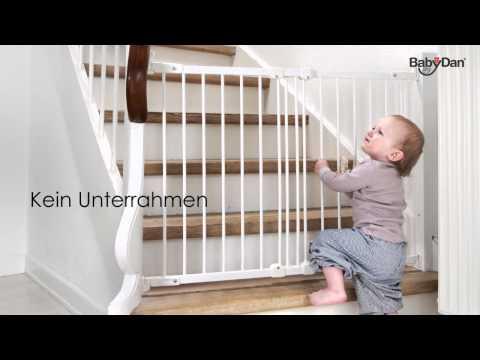 Flexi fit Metall Schutzgitter von Baby Dan