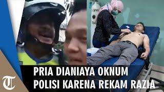 Viral Video Pria Dianiaya 2 Oknum Polisi karena Rekam Razia: Sat Sabhara Berwenang? Bukan Satlantas?