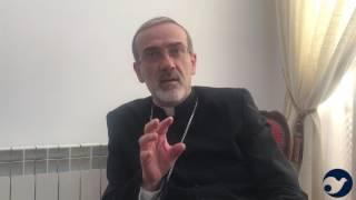 Padre Pizzaballa «Quella Chiesa così piccola là dove tutto è cominciato» (1:32)