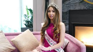 Interview World Queen Elena Suleymanova BEAUTIES OF 5 CONTINENTS