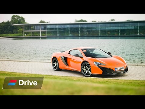 McLaren 650S Spider Road Trip