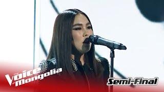 "Enguun - ""Creep"" | Semi-Final | The Voice Of Mongolia 2018"