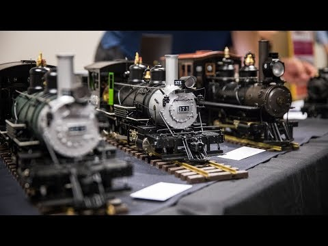 Accucraft's Model Steam Trains