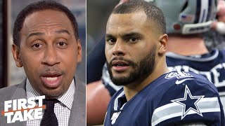 Dak Prescott deserves his money, now! – Stephen A. | First Take