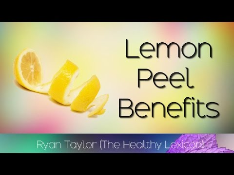 Video Lemon Peel: Benefits & Uses