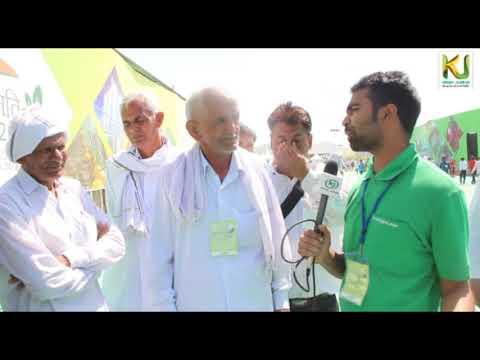 Krishi Jagran interacting with Farmers in Krishi Unnati Mela 2018 // Krishi Jagran //