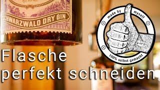 Flaschen Schneiden Glasflaschen, Glas Schneiden Anleitung 100% Erfolgreich! DIY