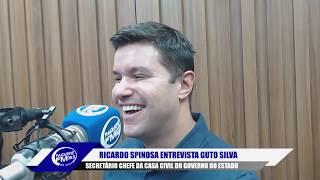 RICARDO SPINOSA ENTREVISTA GUTO SILVA