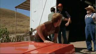 """General Lee and Bo scene from TV movie, """"Dukes of Hazzard - The Beginning"""""""