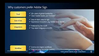 Streamlined signing with Adobe Sign