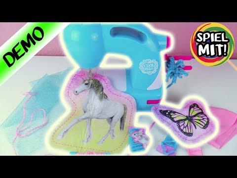 Nähmaschine für Kinder Test   Cool Maker für kleine Mode Designer   Spiel mit mir Kinderspielzeug