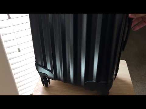 Aerial Genius Pack 21″ Spinner Carry-on for Travel Unboxing 8-5-17