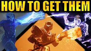 Destiny 2: How to Get the New Forsaken Supers!