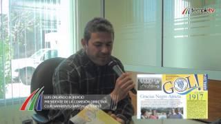 preview picture of video 'NOTA A LUIS BORDICIO - Novedades Club Sarmiento'
