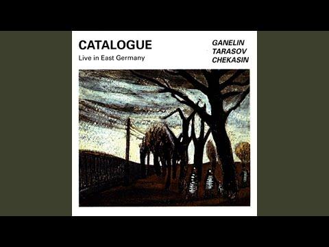 Untitled Track online metal music video by GANELIN TRIO/SLAVA GANELIN