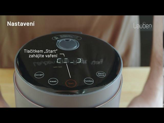 Video tutoriál: Jak používat Lauben Low Sugar Rice Cooker 1500AT