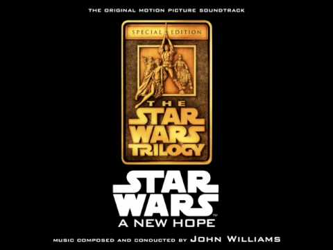 Star Wars: A New Hope Soundtrack - 07. The Trash Compactor