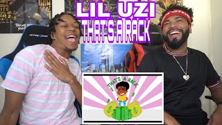 LIL UZI BACK 🔥🔥🤔Lil Uzi Vert   That's A Rack [Official Audio]