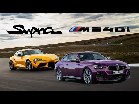 The New 2022 BMW M240i Is Finally A TRUE Rival To The Toyota Supra 3.0